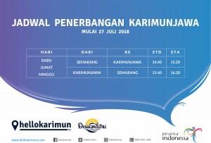 Jadwal Penerbangan Semarang - Karimunjawa