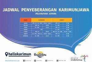 Jadwal Penyeberangan Jepara - Karimunjawa