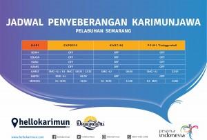 Jadwal Penyeberangan Semarang - Karimunjawa