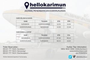 Jadwal Penerbangan Airfast Indonesia ke Karimunjawa