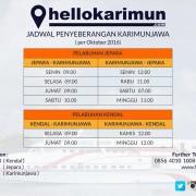 Jadwal Penyeberangan Express Bahari ke Karimunjawa